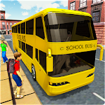 City School Bus Coach Simulator 2018 Icon