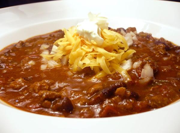Boot Stompin' Chili Recipe