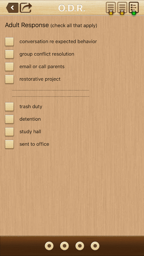 Office Discipline Referral- screenshot