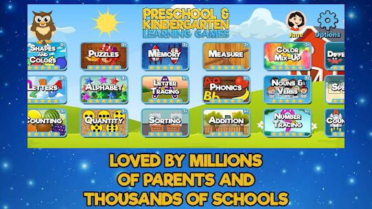 Preschool and Kindergarten Learning Games 4