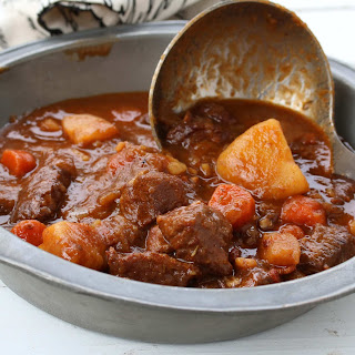 Beef & Guinness Stew.