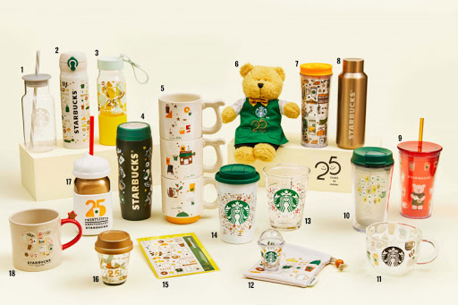 Starbucks celebrates its 25th anniversary in Japan with a special commemorative drinkware range