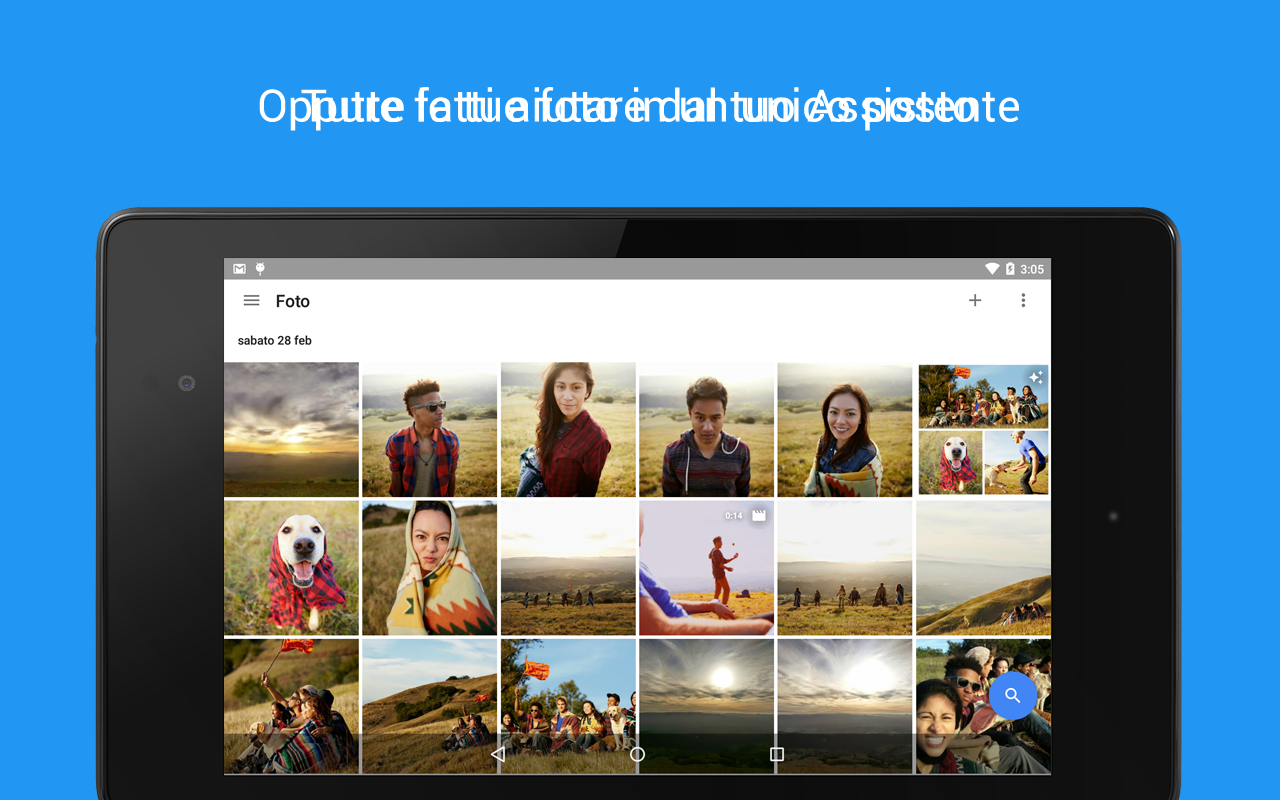 Google Foto- screenshot