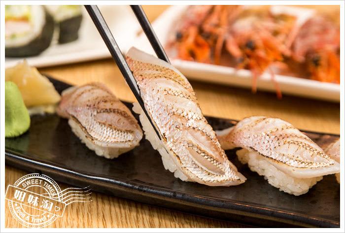 大手町日本料理無菜單料理血鯛握壽司