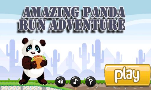 Amazing Panda Run Adventure