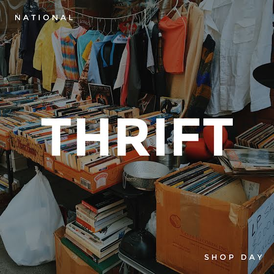 Thrift Shop Day - Instagram Post Template