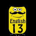 English 13 years icon