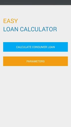 Easy Loan Calculator