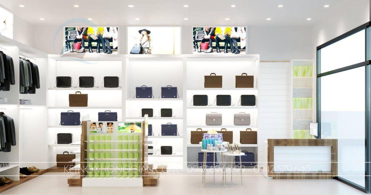 thiết kế shop bán đồ nhập khẩu