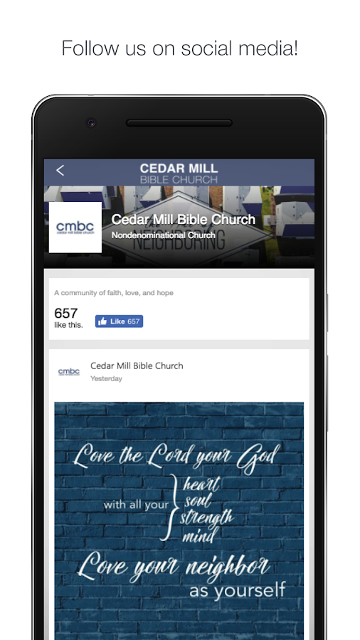 Cedar Mill Church Portland- screenshot