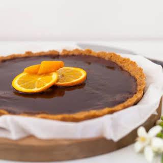 Chocolate & Orange Tart.