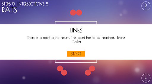 LINES | Lost Charm Spel för Android screenshot