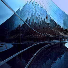 The Blue Curves by Alit  Apriyana - Buildings & Architecture Other Exteriors