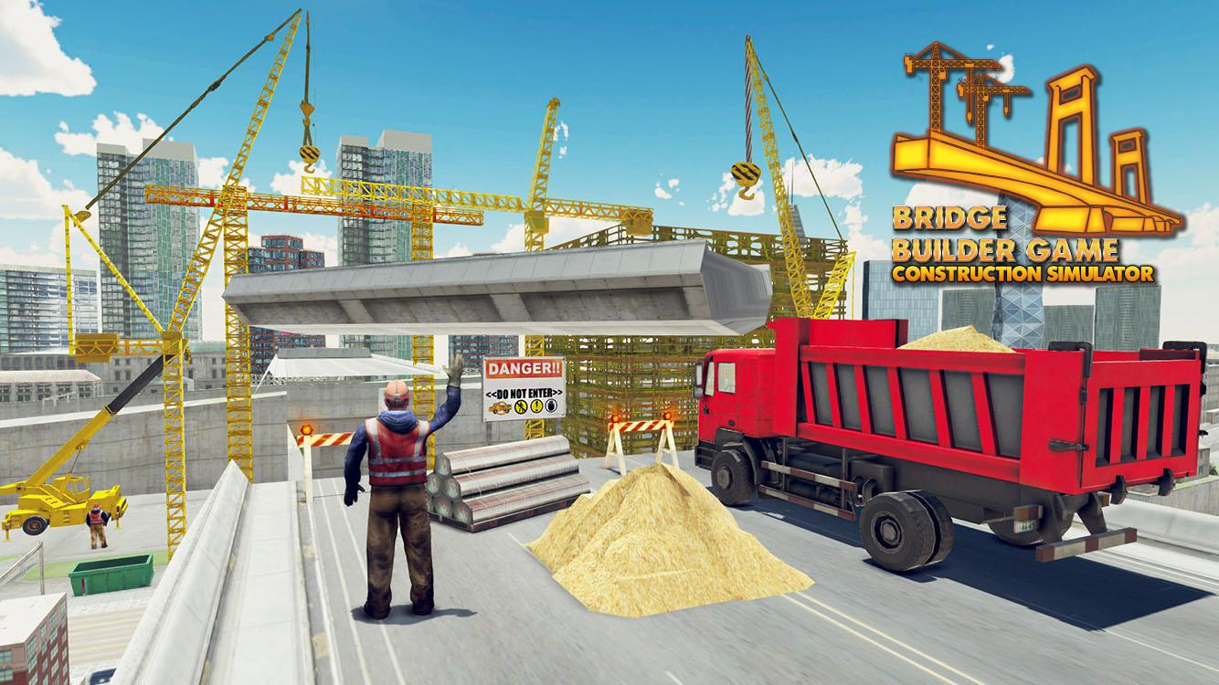 Bridge builder construction simulator 3d android apps for House building simulator online