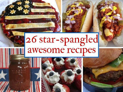 26 Star-Spangled Awesome Recipes