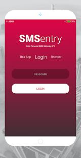 SMSentry - SMS Gateway API - náhled