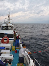 Photo: 今日は、「ウキ流し」で真鯛をねらいます!
