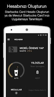 Starbucks Türkiye Screenshot
