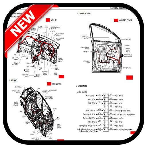 wiring car (app)