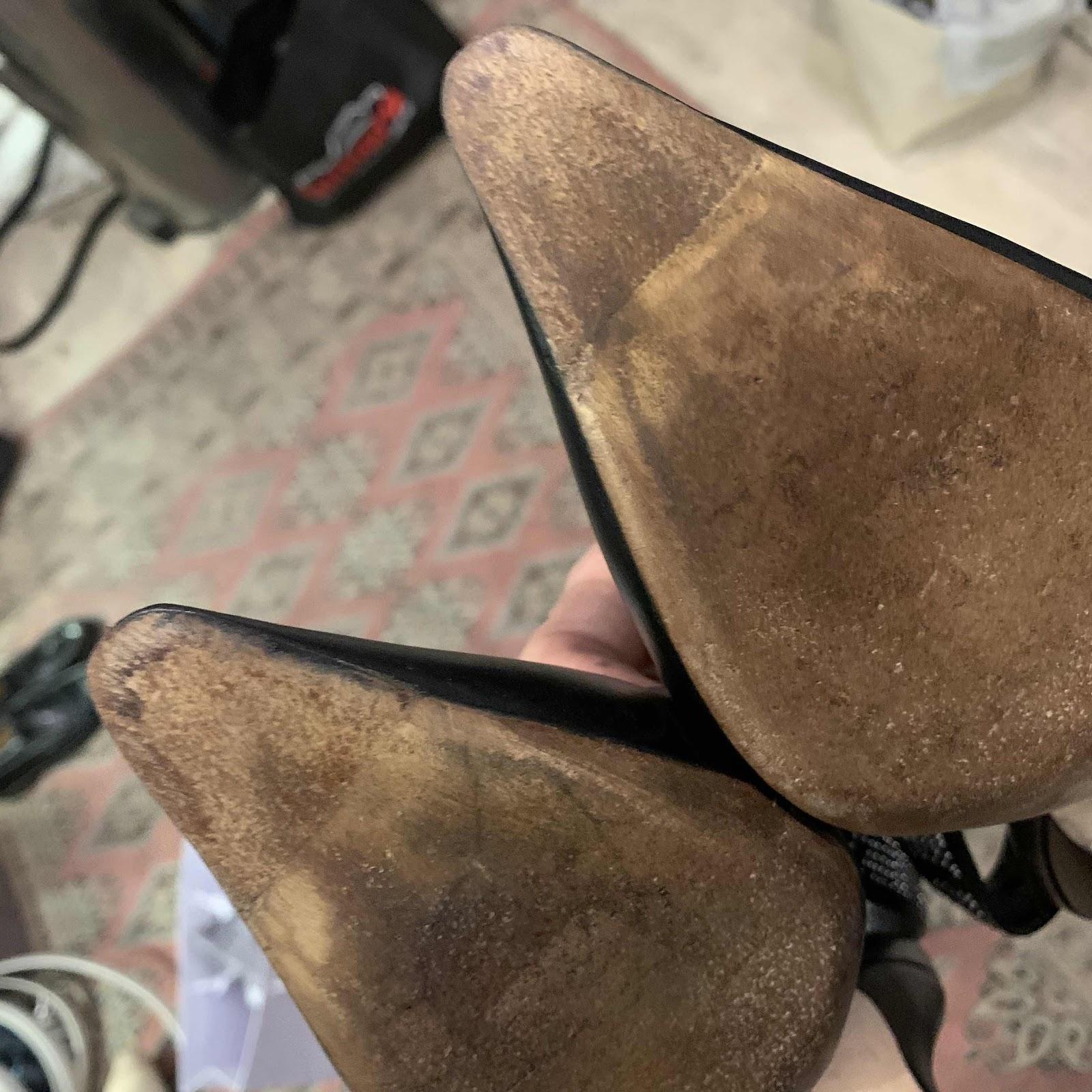 Christian Dior restauration réparation escarpins 6