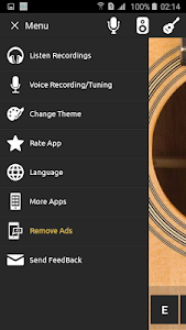 Guitar tuner screenshot 1