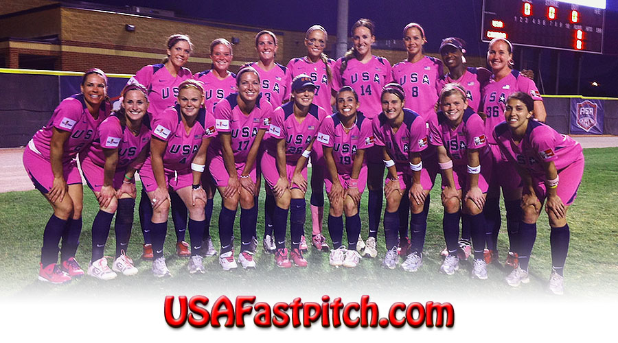 USA Fastpitch Softball Olympic Players