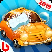 غسيل السيارات للأطفال: سوبر لعبة تنظيف السيارات APK