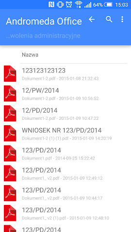 android Singu Dataroom Screenshot 1