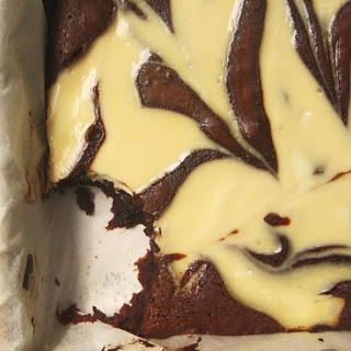 Sour Cream Swirl Fudge Brownies.