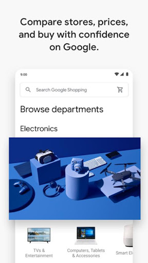Google Express screenshot 2