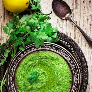 Cilantro Mint Jalapeno Hummus
