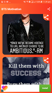 Download Bts Motivational Quotes For PC Windows and Mac apk screenshot 4