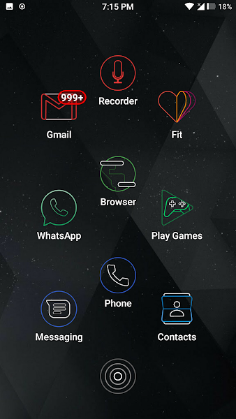 Amoled Lines Icon Pack v9.0 [Patched]