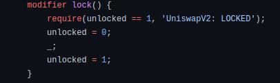 Renterancy block code