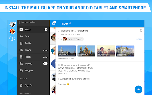 Mail.Ru - Email App- screenshot thumbnail