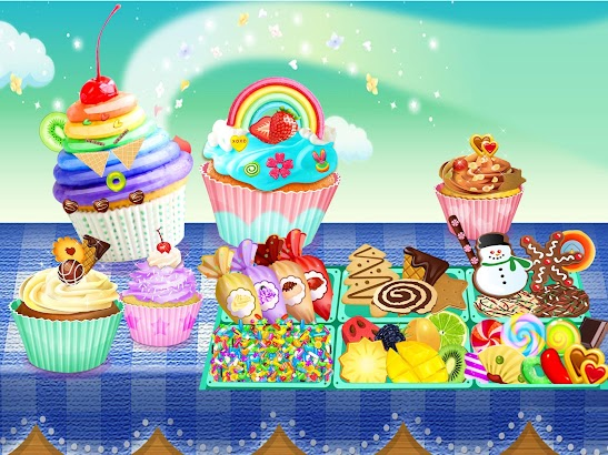 Cupcake Maker - Sweet Dessert Cooking Chef- screenshot thumbnail