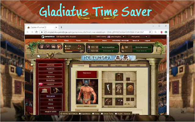 TÉLÉCHARGER GLADIATUS ADDON GOOGLE CHROME