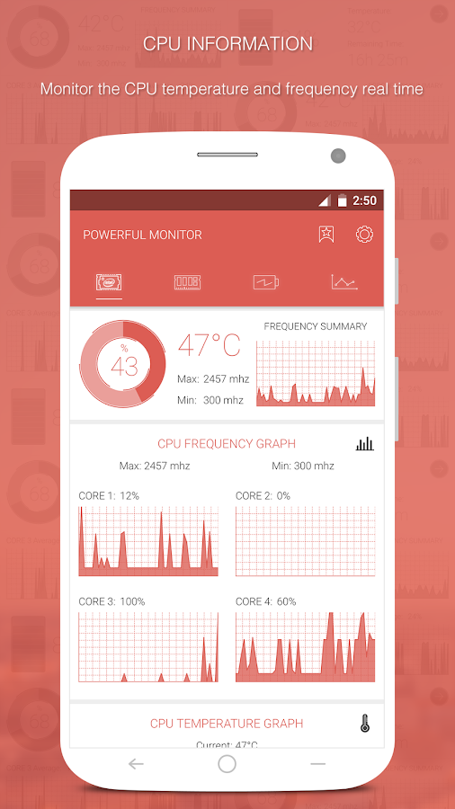 App][2 3+]The most beautiful and powerful System Monitor for