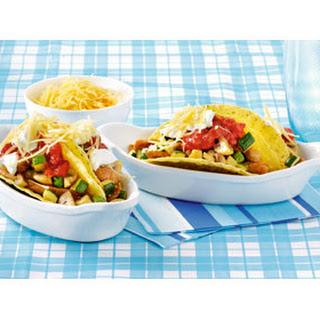 Taco's Met Gebakken Champignons En Salsa