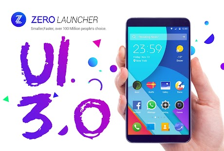 ZERO Launcher pro,smart,boost Screenshot 1