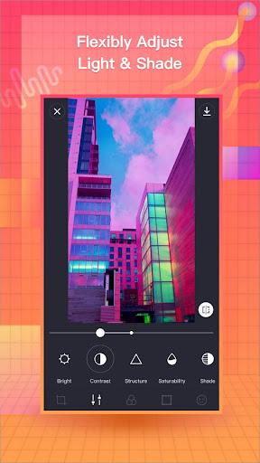 VaporCam-Glitch, Aesthetic, Vaporwave Photo Editor 1.9.3 screenshots 5