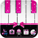 Pink Piano Theme Pink Tiles icon