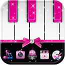 Pink Piano Theme Pink Tiles v 1.1.1 app icon