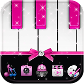 Pink Piano Theme Pink Tiles