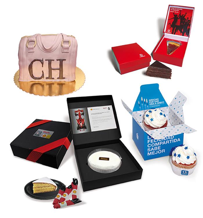 tartas de regalo personalizadas