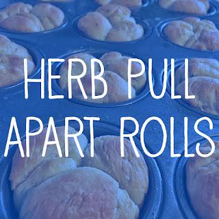 Herb Pull Apart Rolls Recipe