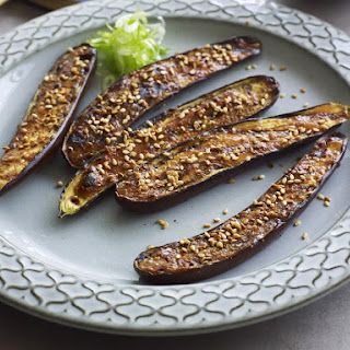 Broiled Eggplant with Miso