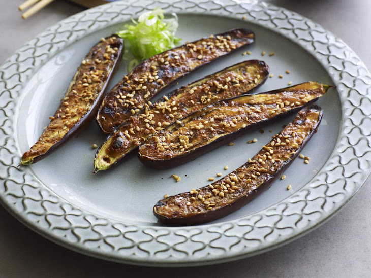Broiled Eggplant with Miso Recipe