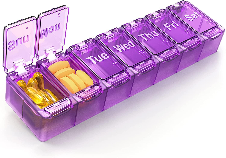 8 Best Pill Organizers of 2021 - Pill Dispensers [Reviews] 4