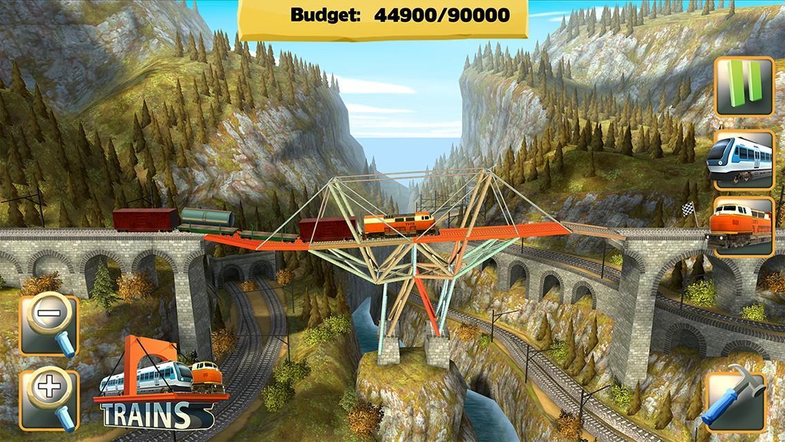Bridge Constructor- screenshot